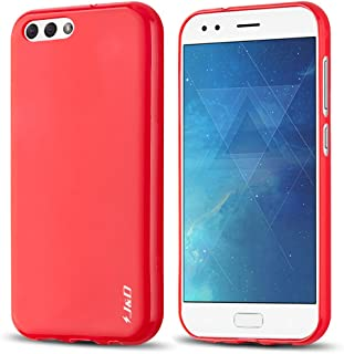 J&D Case Compatible for ZenFone 4 ZE554KL Case, [Drop Protection] [Slim Cushion] Shock Resistant Protective TPU Slim Case ...