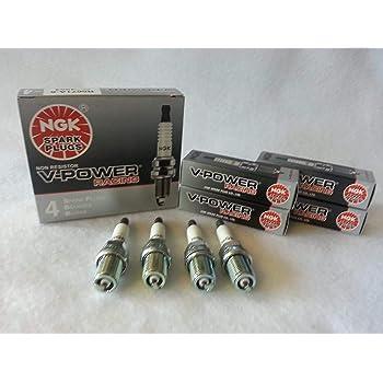 NGK (4091) R5671A-7 Spark Plug - Pack of 4