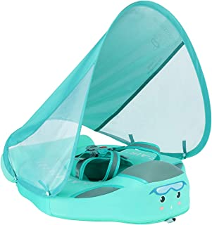Add Tail Never Flip Over UPF50+ Mambobaby 2020 Newest Non-inflatable Float Swim Trainer..