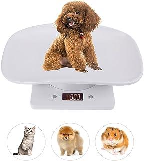 مقیاس حیوان خانگی دیجیتال ، مقیاس دیجیتال چند منظوره Abnaok ، مقیاس گربه سگ خانگی هوشمند اندازه گیری وزن به طور دقیق (حداکثر: 10 کیلوگرم / 22 پوند) مناسب برای توله سگ / گربه / سگ