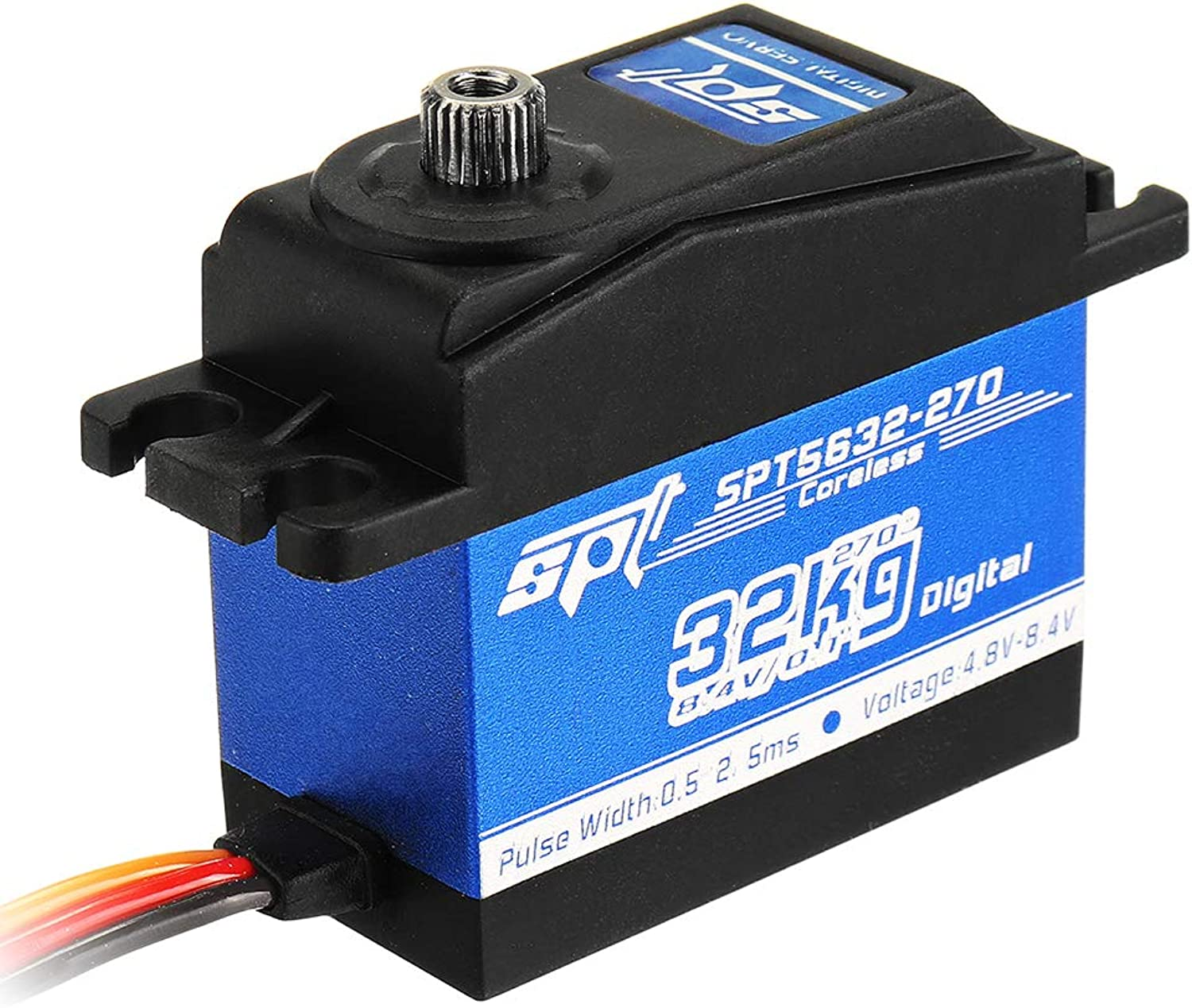 mejor servicio Desconocido Desconocido Desconocido Generic SPT Servo SPT5632-270 32KG Coreless Digital Servo Large Torque Metal Gear For RC Robot  Descuento del 70% barato