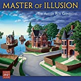 2021 Master of Illusion  The Art of Rob Gonsalves 16-Month Wall Calendar