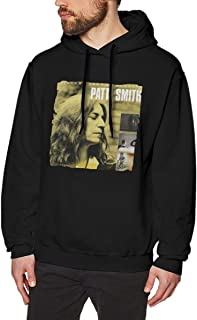 Cotton Mens P-a-t-t-i S-m-i-t-h Sweaters Black with Mens Hoodies