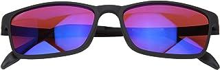 Kleurenblinde bril, roodgroene kleurenblinde bril Kleurzwakte Corrigerende bril Verbetering van het gezichtsvermogen Zonne...