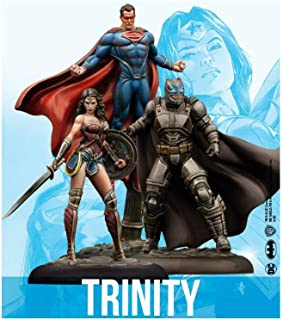 Knight Models DC Universe Miniature Game Trinity Batman Superman Wonder Woman (Resin)