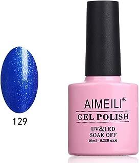 AIMEILI Soak Off UV LED Gel Nail Polish - Hyacinthum Oceani (129) 10ml