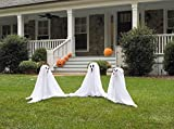 Forum Novelties Light Up Color Changing Ghostly Group Haunt Your Yard Halloween Decor Spooky