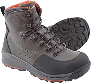 Simms Freestone Wading Boot for Men, Lightweight, Rubber Sole, Waterproof, Durable, Superior Traction