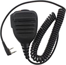 Remote Speaker Microphone with Noise-Cancelling Feature for ICOM IC-F3G IC-F3GS IC-F4G IC-F4GS-RUKEY