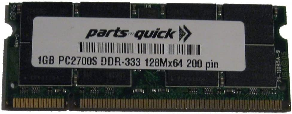 parts-quick 1GB Memory for HP Notebook Special Edition At the Gorgeous price Compaq L2