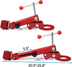 JAXPETY Red Roller Fender Extending Reforming Roll Arch Wheel Flaring Former Professional Kit