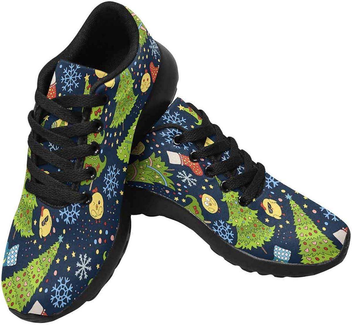 InterestPrint Women's Running Sneakers Outdoors Shoes