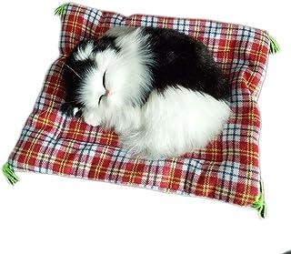 rongweiwang Barn plyschleksaker underbar simuleringsdocka plysch djur barn flicka sova leksak verkliga livet plysch ljud l...