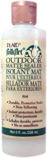 FolkArt K864 Outdoor Sealer (8 Ounce), Matte Finish