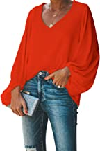 Best orange blouse top Reviews