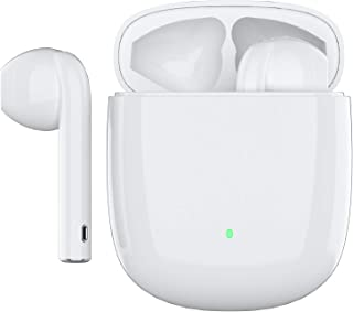 ワイヤレスイヤホン Bluetooth 5.0 超ミニ型 Bluetooth イヤホン ブルートゥース イヤホン Hi-Fi 完全ワイヤレス イヤホン 自動ペアリング Siri対応/AAC対応/左右分離型/軽量
