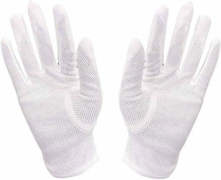 RenShiMinShop Weiße Reine Baumwolle Rutschfeste Handschuhe Etikette Rezeption Rezeption Rezeption Wenwan Bewertung Leistung Sonne Handschuhe B07FDYM92K  | Verkaufspreis  37cef5
