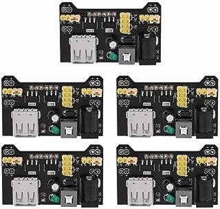 5PCS Power Supply Breadboard Module Power Module 5V 3.3V for Arduino Board Solderless Breadboard