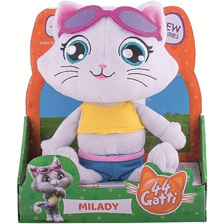 Simba Toys. Personaggio 44 Gatti Milady Peluche Musicale 20 cm Prodotto Ufficiale