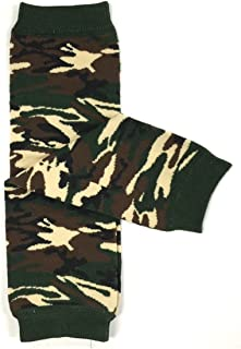 Wrapables Colorful Baby Leg Warmers, camouflage, One Size