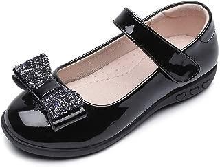 Kids Girls Strap School Uniform Dress Mary Jane Shoes