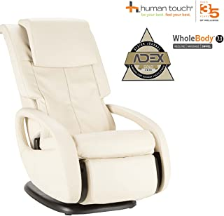 Human Touch WholeBody 7.1 Massage Chair - 3D FlexGlide, CirQlation Technology - 5 Programs, Bone