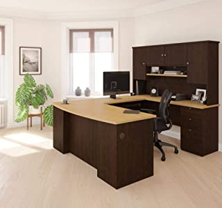 Groovy U Shape Home Office Desks Amazon Com Home Interior And Landscaping Transignezvosmurscom