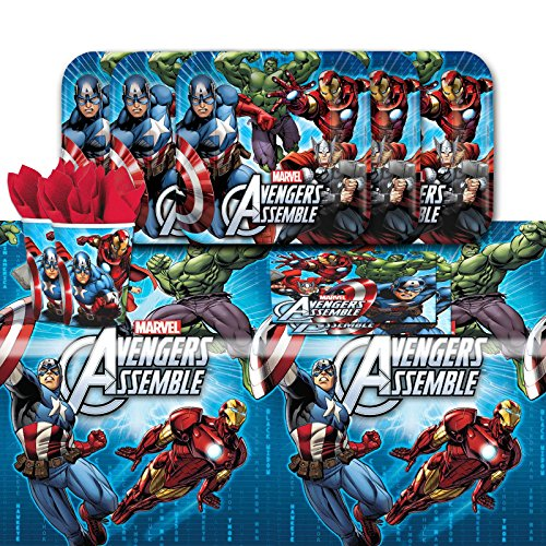 Avengers Party Pack for 16 with Tabelcover