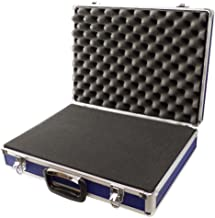 Generic - Funda de espuma acolchada para transporte de viaje, 460 x 340 x 115 mm, almacenamiento seguro, color azul