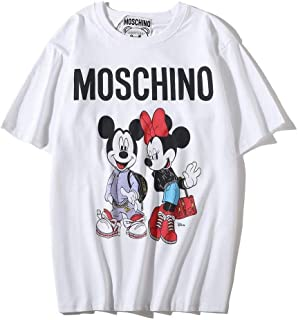 Moschino Mich Minnie Short Sleeve T-shirt Lady Tee For Women and Lady