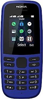 Nokia 105 - 2019 Blue Dual Sim, Versión extranjera, No tiene idioma español
