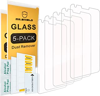 [5-PACK] - Mr.Shield For LG G6 [Tempered Glass] Screen Protector [0.3mm Ultra Thin 9H Hardness 2.5D Round Edge] with Lifet...