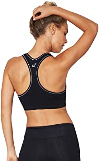 Racerback Sports Bra - Medium Support with Sporty Style
