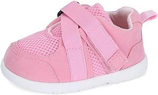 LACOFIA Chaussures Premiers Pas pour bébés Baskets à Semelle en Caoutchouc antidérapantes pour bébé garçons Filles