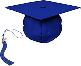 Adult Unisex Graduation Matte Cap with Tassel 2019