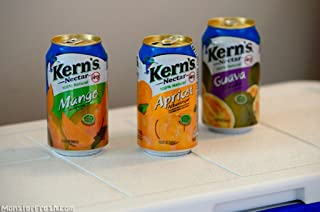 Kern's Nectar Variety Pack (Mango, Apricot, Peach, Guava) 30-Can /11.5oz