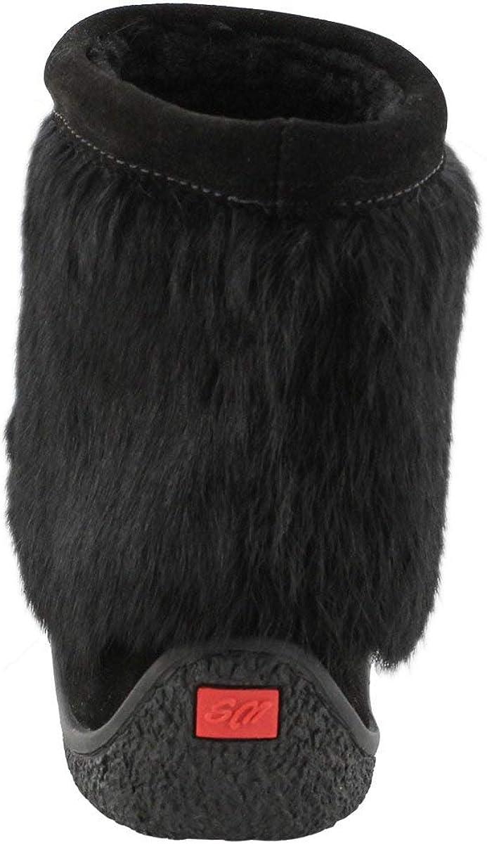 SoftMoc Womens Minimuk 2 Rabbit Fur Mukluk