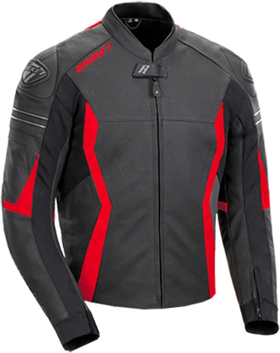 Joe Rocket Men's Fashionable GPX Jacket Black Sale Special Price 42 Red