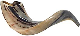 """Judaica Mega Mall Kosher ODORLESS Polished Natural Rams Horn 