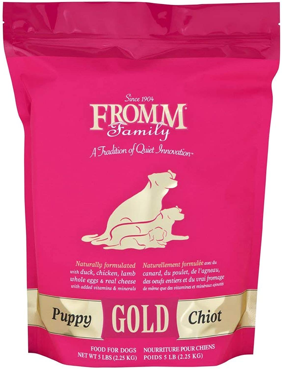 Fromm Puppy gold Dry Dog Food, 5Pound Bag