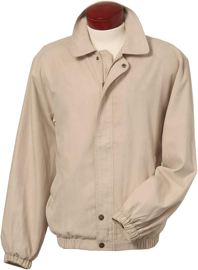 Monterey Club Men's Microfiber Suede Full Zip Jacket #1704