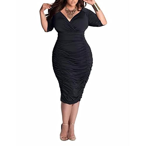 Plus Size Dresses for Wedding Guest: Amazon.co.uk