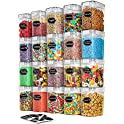 20-Piece Airtight Food Storage Containers Set with Lids (1.6L)