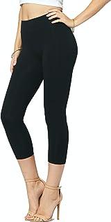 Premium Soft Cotton Leggings - Wide Waistband - Reg/Plus...