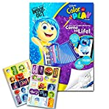 Disney Pixar Inside Out Color and Play Coloring Book - Over 30 Stickers