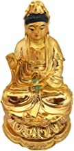 Divya Mantra Lady Buddha/Guan Yin/Kwan Yin/Kuan Yin/Tara Devi Goddess of Mercy and Compassion Idol Sculpture Statue Murti