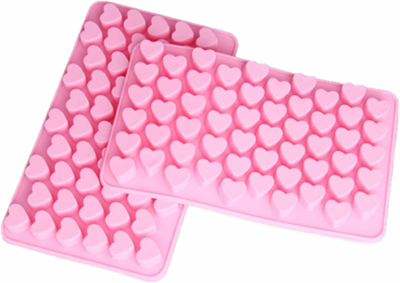 Cy200Lf Silicone Mini Heart Shape Ice Cube Candy Chocolate Mold PACK OF 20