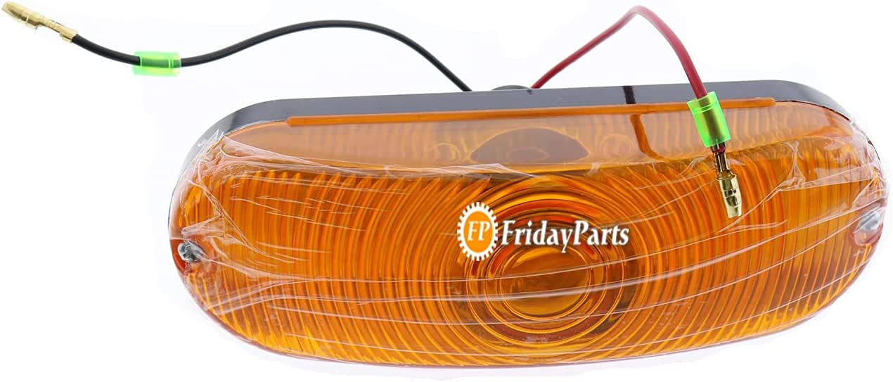 Fresno Mall FridayParts Turn Signal Lamp Free Shipping Cheap Bargain Gift D135384 for Case 580 580M 580L 580K