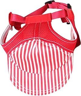Petall Sombrero de béisbol para Mascotas de Moda para Viaje, al Aire Libre, protección Solar, para Perros pequeños, medianos y Grandes.