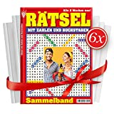 6 x Hefte 'RÄTSEL MIT ZAHLEN UND BUCHSTABEN' NR. 148-153, 192 Seiten, erscheint alle 2 Wochen
